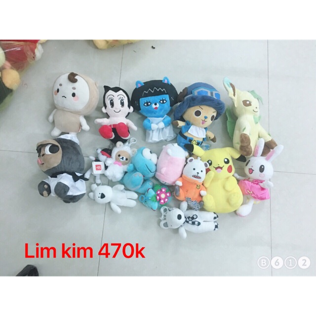 combo gấu của Lim Kim