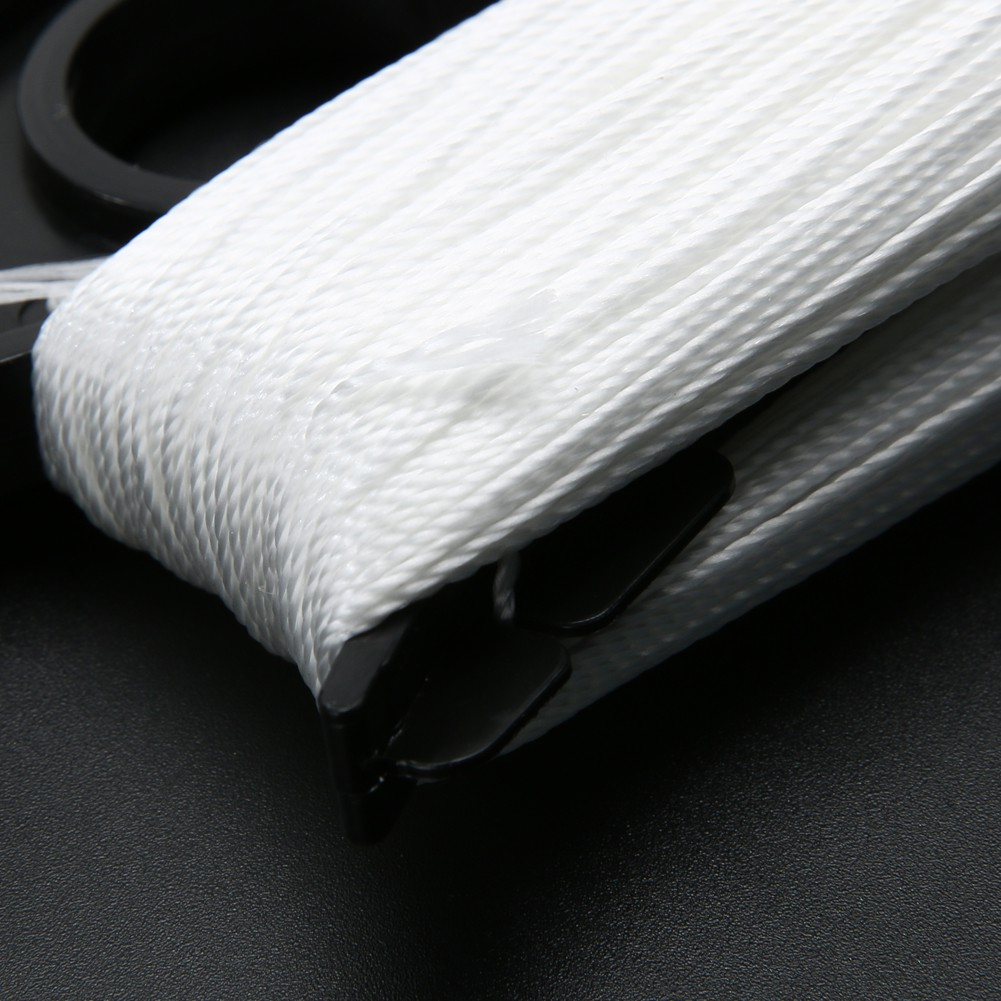 Cuộn dây diều 100m màu trắng hình chữ D