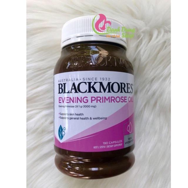 (new) Tinh dầu hoa anh thảo Blackmores 190v date 2020 Úc