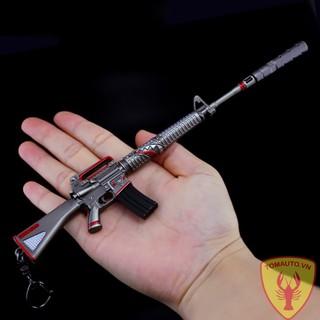 Mô hình súng M16A1 skin Cá mập 16cm