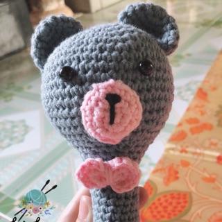 Đồ chơi cho bé – Lục lạc gấu Boom