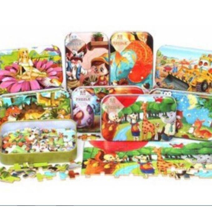 Ghép hình Puzzle 60 chi tiết dành cho bé