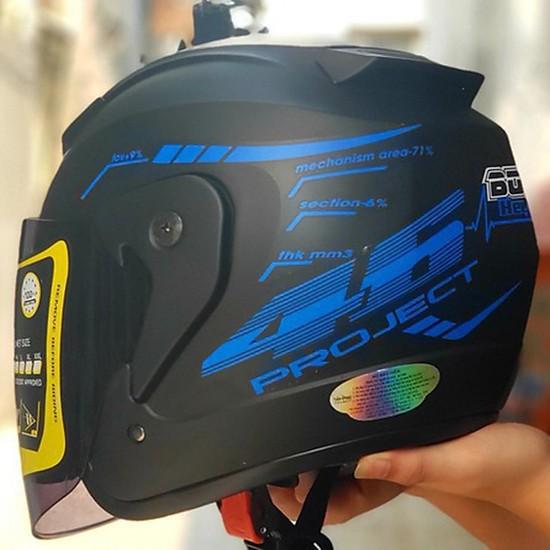 Nón bảo hiểm 3/4 BOBA có kính chắn cao cấp - Mũ bảo hiểm đi phượt