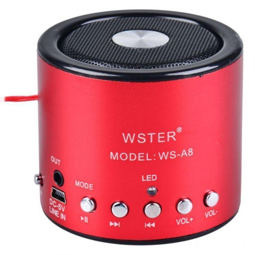 Loa đa năng Wster WS A8 (Đỏ)