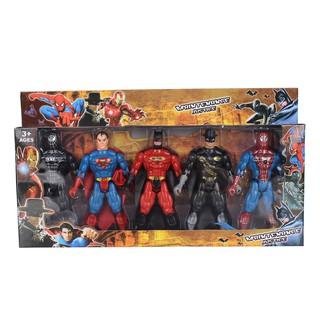 Đồ chơi năm anh em siêu nhân anh hùng Marvel CY.283-5A
