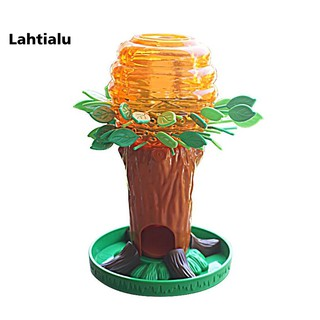 Lahtialu Small Bee Tree Interactive Children Thinking Training Family Party Game Toy