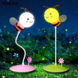 Đèn ngủ để bàn cảm ứng đổi màu hình con ong cực đẹp – Venado