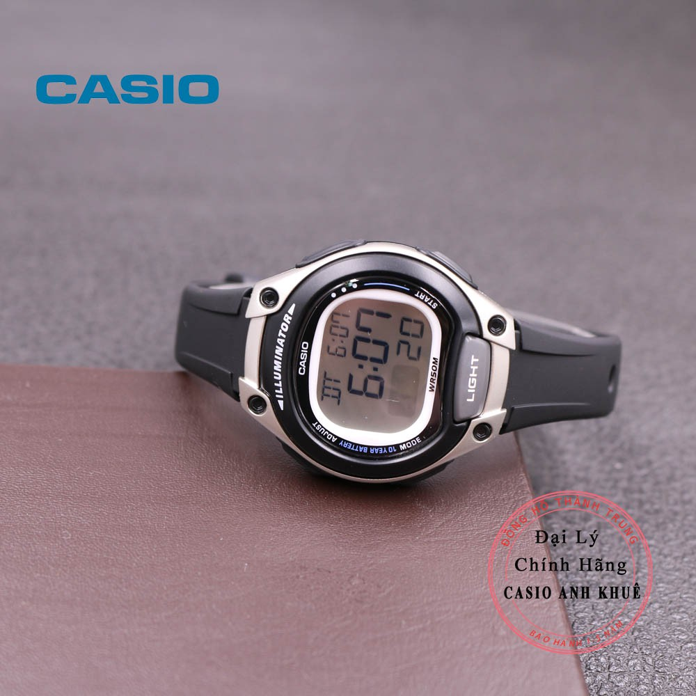 Đồng Hồ Nữ Casio LW-203-1AVDF Dây Nhựa Pin 10 Năm