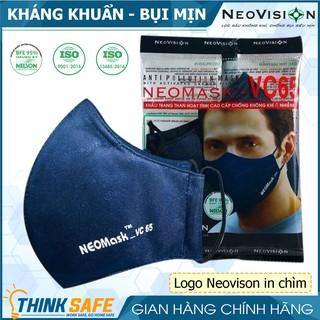 Khẩu trang VC65 than hoạt tính, lọc bụi mịn khói xe, vải mịn không sờn, dễ đeo giặt và tái sử dụng nhiều lần thumbnail