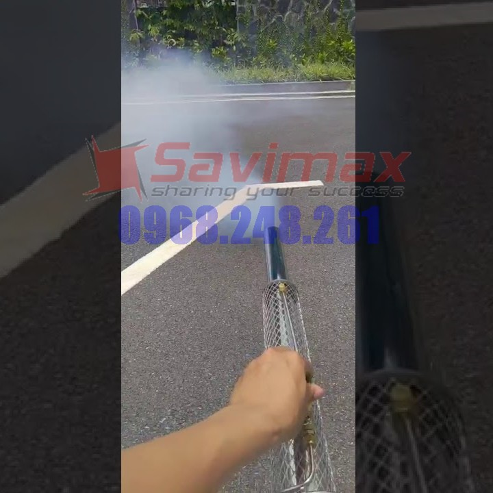 Máy phun khói Hàn Quốc VNPK 150SK phun dung dịch sát khuẩn khử trùng tại TP Hải Dương