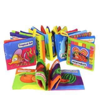 Sách Vải Màu Sắc Cho Bé 11 Chủ Đề