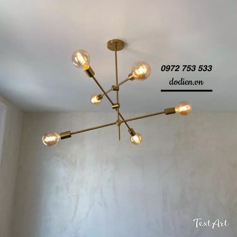 Đèn chùm thả decor phòng khách,đèn bàn ăn hiện đại