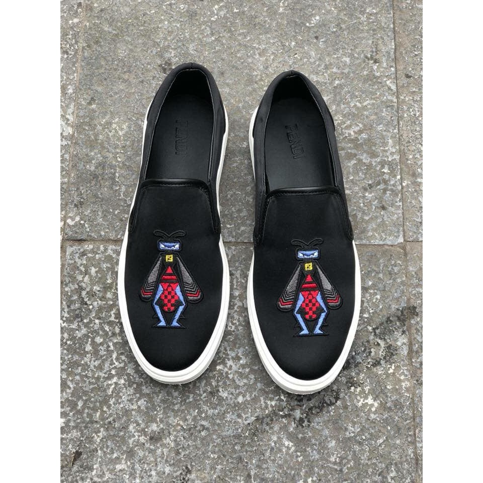 Giày thời trang siêu cấp Fendi logo thêu