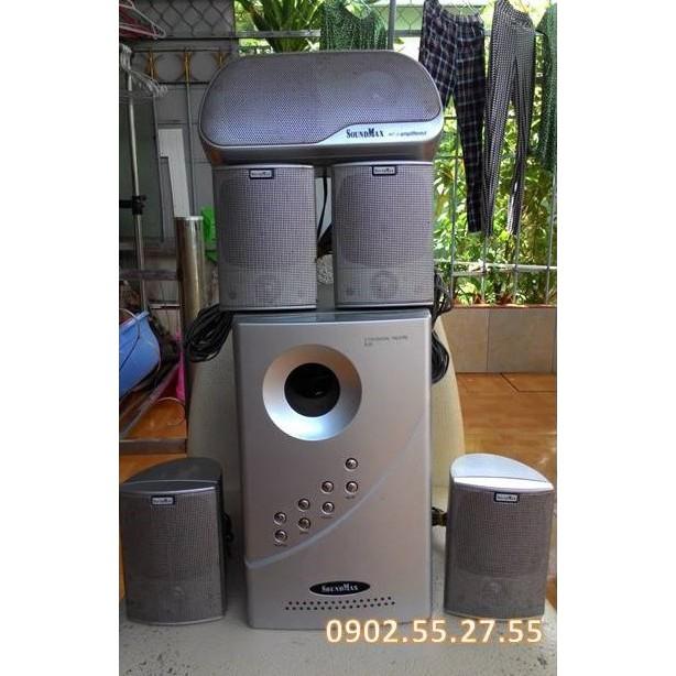 [Freeship toàn quốc từ 50k] Dàn loa Soundmax 5.1 nghe nhạc – xem phim Giá chỉ 550.000₫
