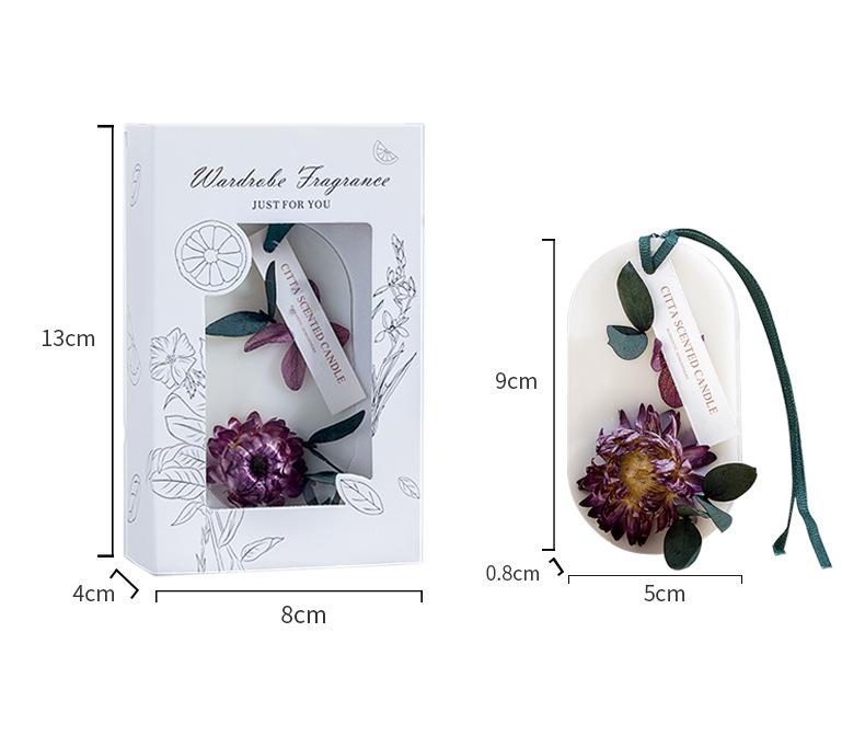 Thẻ sáp thơm treo trang trí xe hơi/phòng ngủ/tủ quần áo trong nhà