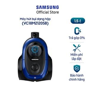 [Mã ELSSCP300 giảm 5% đơn 500K] Máy hút bụi Samsung VC18M2120SB/SV (Xanh)