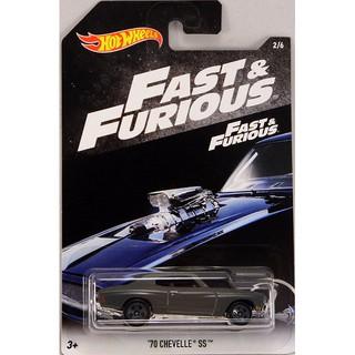 Xe mô hình Hot Wheels Fast & Furious '70 Chevelle SS FKF07