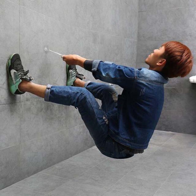 Móc dán tường chịu lực siêu chắc, siêu bền