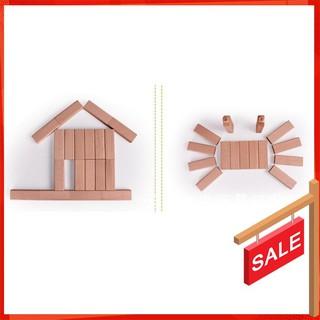 [BÁN CHẠY] Bộ đồ chơi rút gỗ thông minh 54 thanh loại to cho bé [ẢNH TỰ CHỤP]