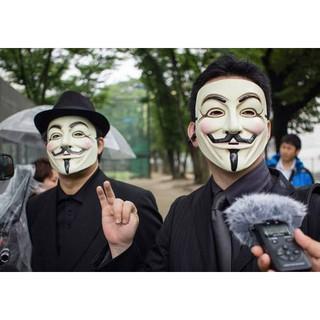 MẶT NẠ HÓA TRANG HACKER anonymous