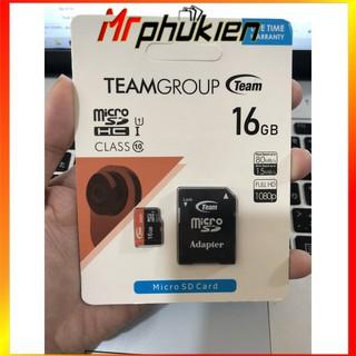 [Mã ELFLASH5 giảm 20K đơn 50K] THẺ NHỚ MICROSD TEAM 16GB CLASS 10 - SmartShop