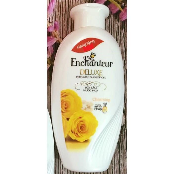 Sữa Tắm Trắng Và Dưỡng Ẩm Enchanteur Charming (hàng tặng 60g)