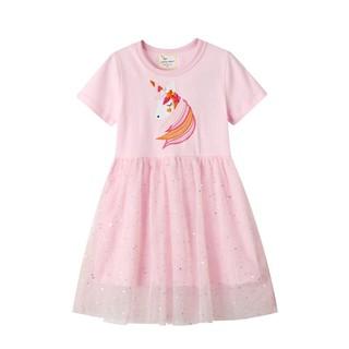 [Mã JUMP1920 giảm 10% đơn bất kỳ] CHÍNH HÃNG_Váy bé gái VH1 ngựa hồng Jumping meters