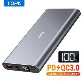 Hình ảnh TOPK I1006P Pin Sạc Dự Phòng Cho iPhone Huawei Samsung Xiaomi Oppo Vivo Realme 10000mAh 36W Sạc Nhanh Có Màn Hình Điện Tử-0