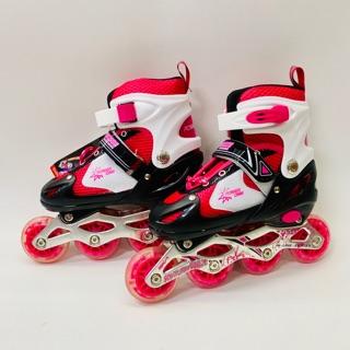 Giày patin cho bé 4 bánh 1 bánh đèn