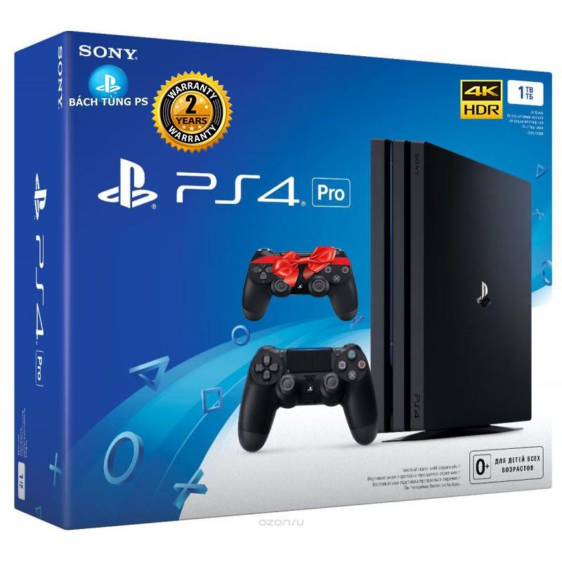 Máy chơi game SONY PS4 PRO 1TB + Tay cầm Dualshock 4 ZCT2- hãng chính thức phân phối - 3476178 , 760876960 , 322_760876960 , 11990000 , May-choi-game-SONY-PS4-PRO-1TB-Tay-cam-Dualshock-4-ZCT2-hang-chinh-thuc-phan-phoi-322_760876960 , shopee.vn , Máy chơi game SONY PS4 PRO 1TB + Tay cầm Dualshock 4 ZCT2- hãng chính thức phân phối