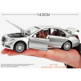 Mô hình xe hơi Mercedes benz S600 Siêu chất