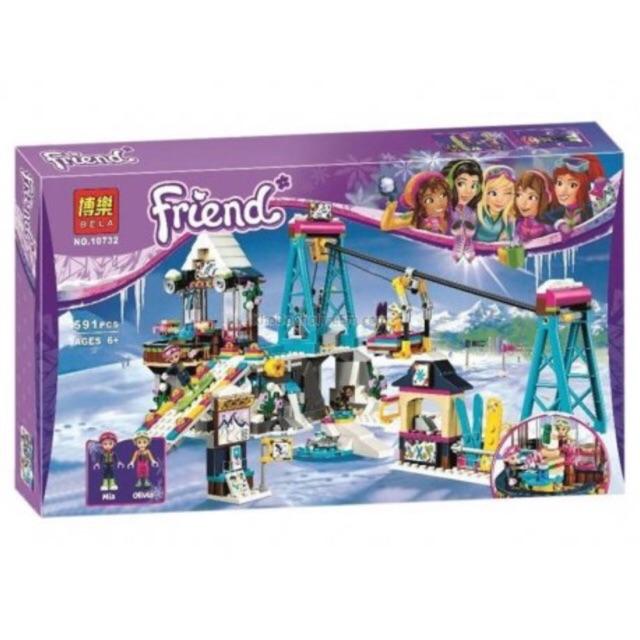 Lego friends 10732- Cáp treo khu trượt tuyết