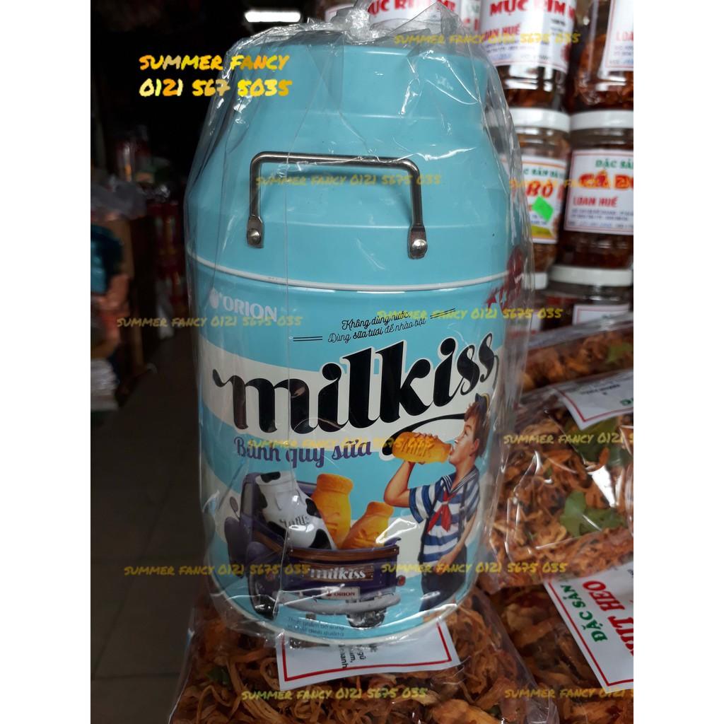 120g Bánh quy sữa Milkiss Orion hộp thiếc sang trọng - Cookies - Bánh kẹo tết - 10029915 , 771734354 , 322_771734354 , 65000 , 120g-Banh-quy-sua-Milkiss-Orion-hop-thiec-sang-trong-Cookies-Banh-keo-tet-322_771734354 , shopee.vn , 120g Bánh quy sữa Milkiss Orion hộp thiếc sang trọng - Cookies - Bánh kẹo tết