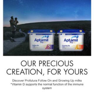 Sữa Aptamil Profutura Anh số 1,2,3 - Cam kết hàng xách tay chuẩn
