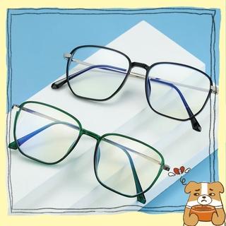 🌟YEW🌟 Retro Blue Light Blocking Glasses Vision Care Safety Goggles Office Computer Goggles Square Frame Anti Eyestrain Unisex Radiation Protection Eyewear Gaming Eyeglasses