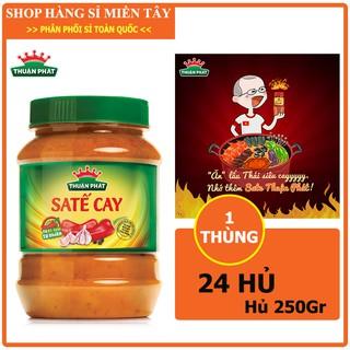 Thùng 24 hủ Sa tế cay Thuận phát loại 250g