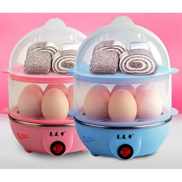Máy hấp trứng hâm đồ ăn 2 tầng TL650