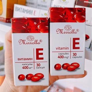 Vitamin E 400mg Mirolla ( chuẩn Nga)