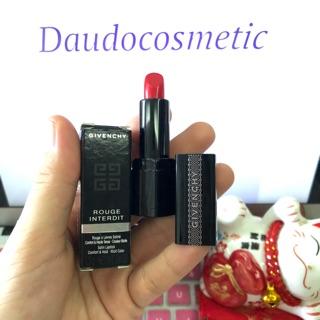 [ mini ] Son Givenchy Rouge Interdit 13 màu 13 fullbox 1.3gr thumbnail