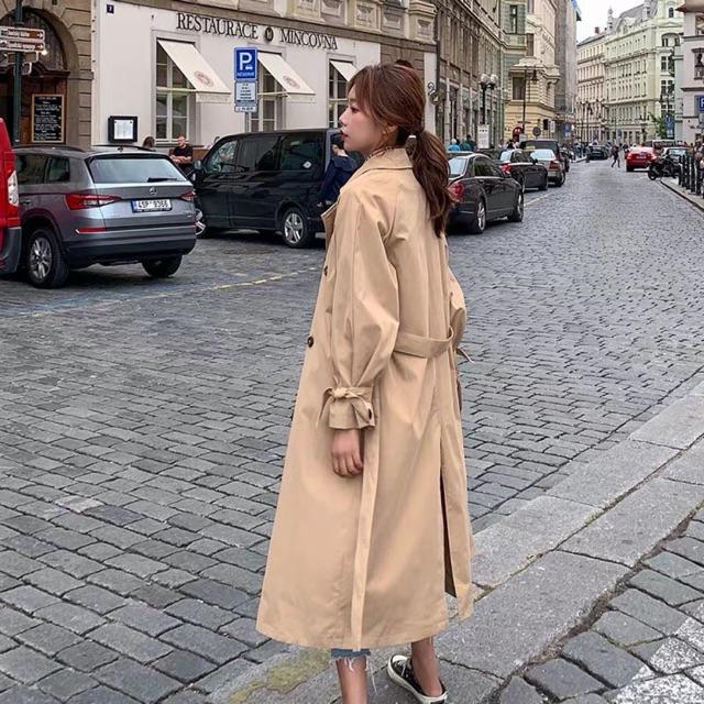 Áo măng tô kaki