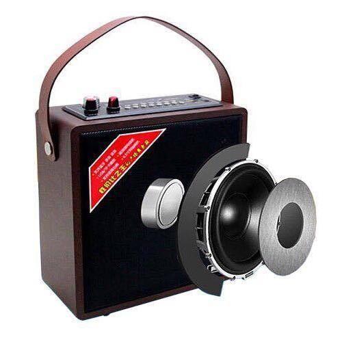 Loa karaoke xách tay A061 tặng kèm micro không dây