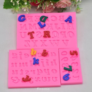 3pcs/set Silicone DIY Handmade Happy Birthday Home Kitchen Easy Clean Letter Number Chocolate Making Fondant Mold