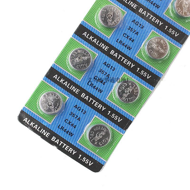 Pin cúc áo pin lithium điện tử đồ chơi trẻ em đồng hồ AG13 357 LR44
