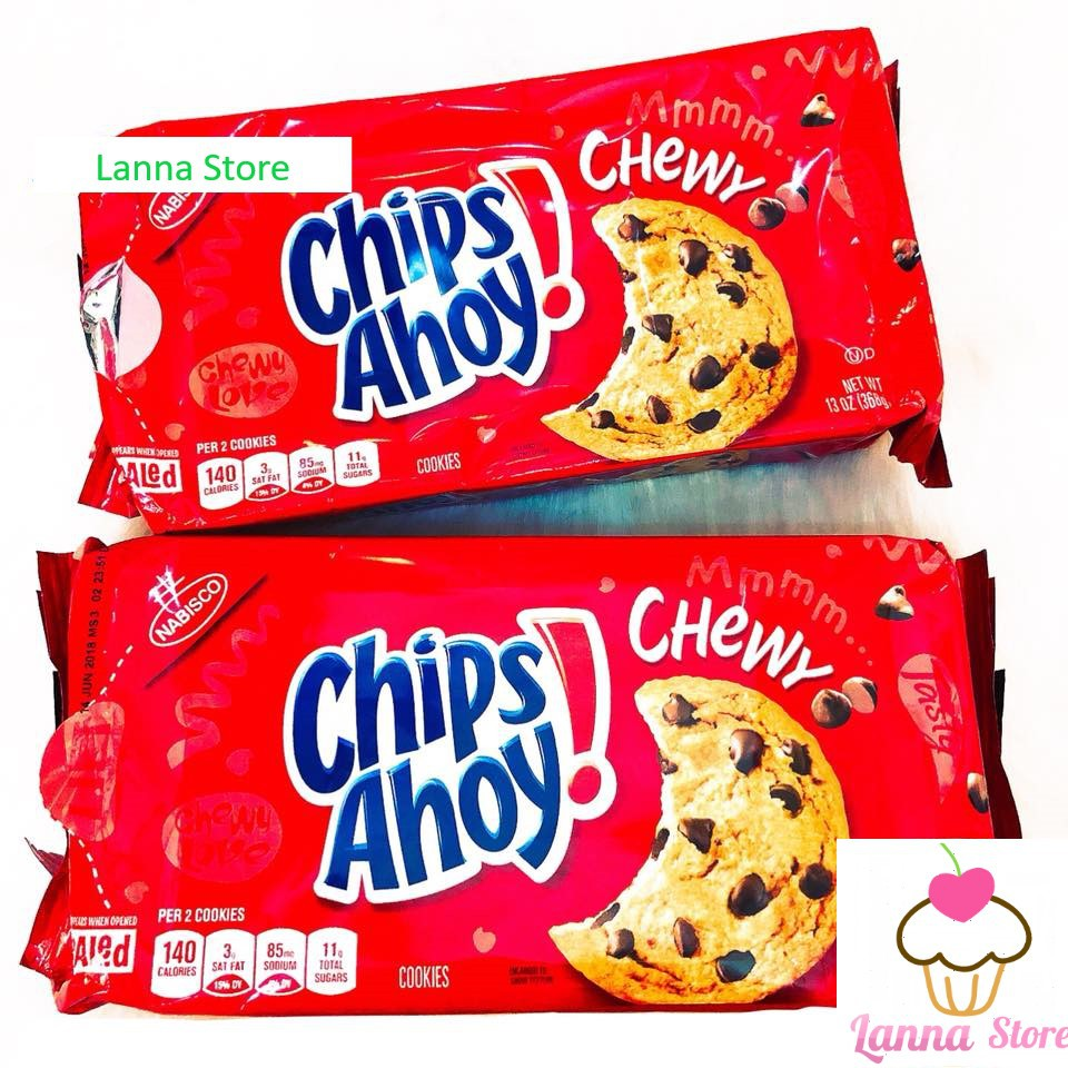 Bánh cookie Chips Ahoy NABISCO - Mỹ