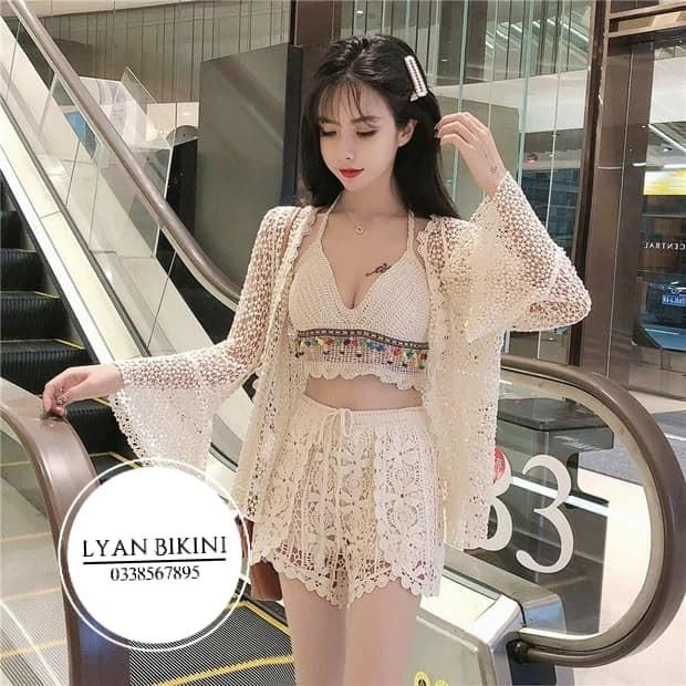 Bikini len móc hàng Quảng Châu( kèm ảnh thật khách mặc