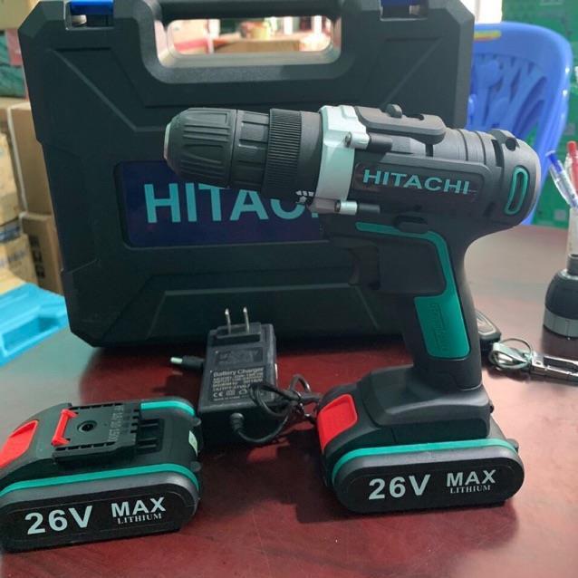 Khoan pin HITACHI 26V cực khoẻ