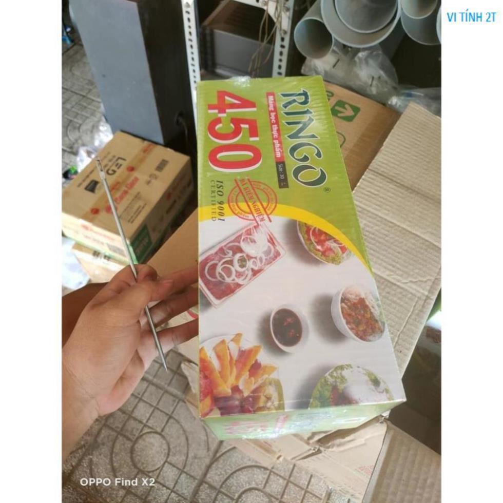 [Mã 267FMCGSALE giảm 8% đơn 500K] Màng bọc thực phẩm RINGO loại 450