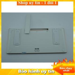 [ Xả kho tết] Bàn Phím Bluetooth Điện Thoại, bàn phím rời Máy Tính Bảng Bluetooth Bow HB191A cao cấp - Freeship thumbnail
