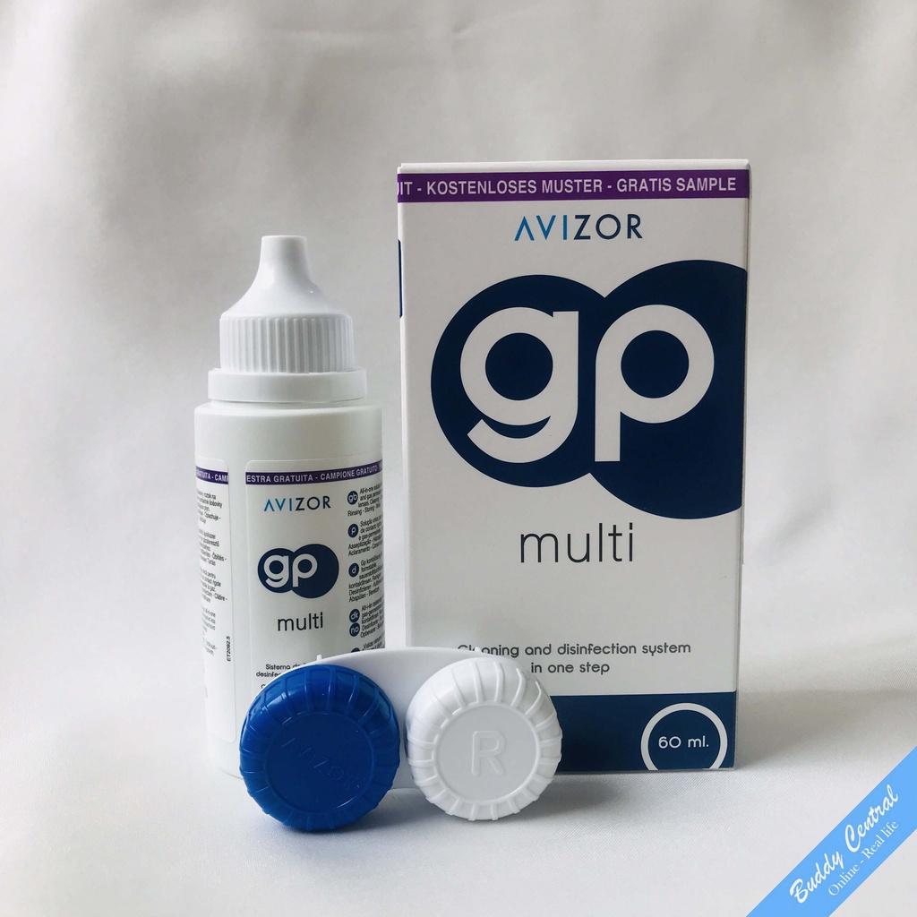 Dung dịch ngâm rửa lens kính áp tròng Avizor GP Multi 60ml