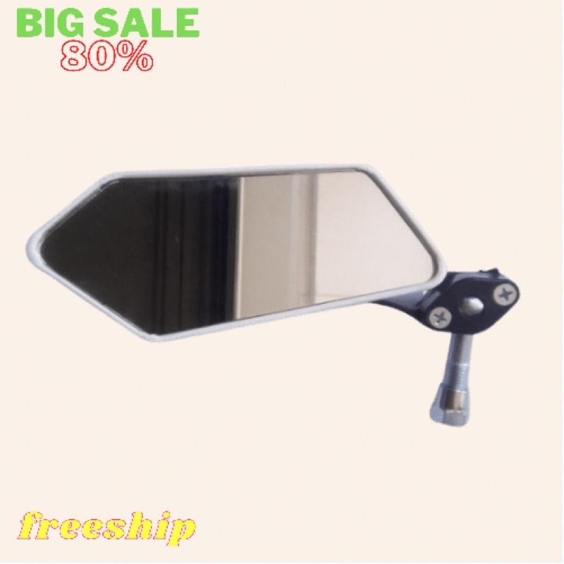 Gương chiếu hậu xe máy 5 cạnh Gương xe máy gương thời trang (1 chiếc)